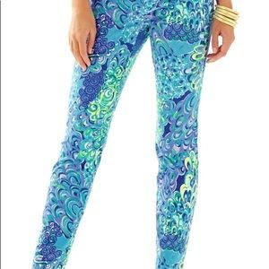 Lilly Pulitzer blue lagoon Kelly pant
